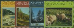 NZ SG1266-9 The Four Seasons set of 4